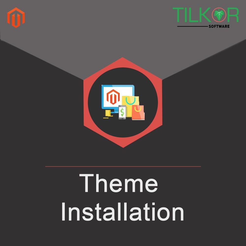 Magento Theme Installation